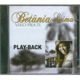 Playback Betânia Lima   Vivo Pra Ti [original]